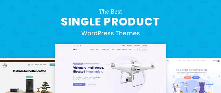 Single Product WordPress Themes