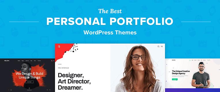 Personal Portfolio Wordpress Themes