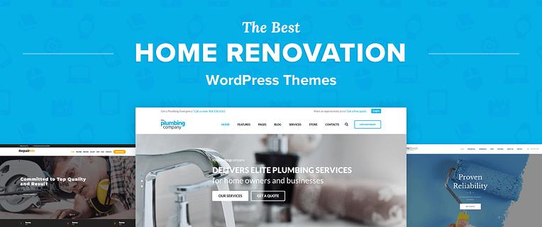 Home Renovation WordPress Themes