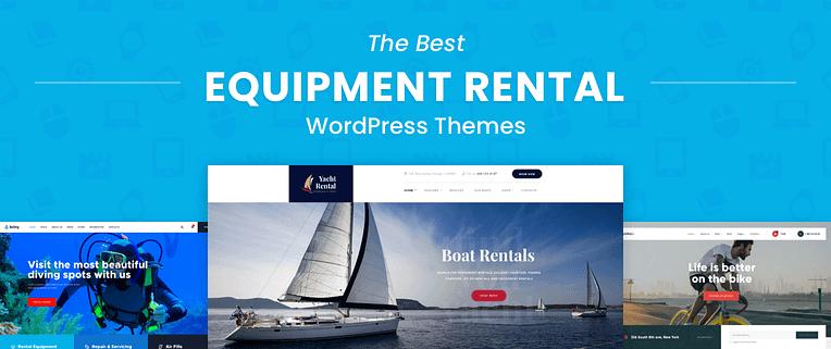 The Best Equipment Rental WordPress Themes