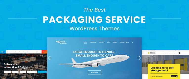 Packaging Service WordPress Themes