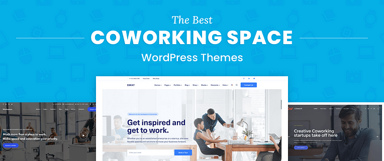 Coworking Space WordPress Themes
