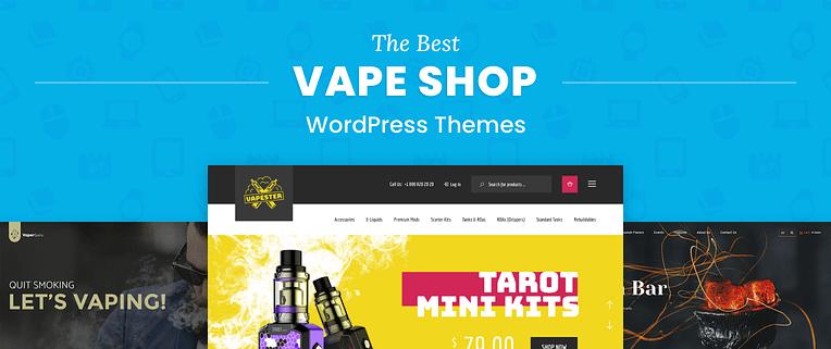 Vape Shop WordPress Themes