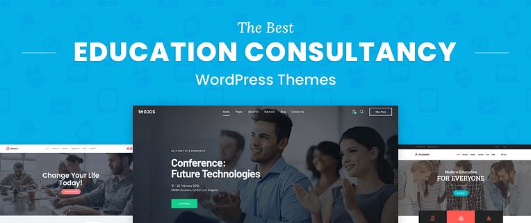 Education Consultancy WordPress Themes