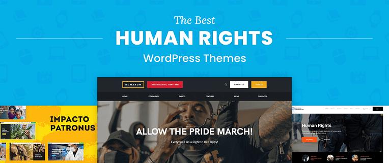 Human Rights WordPress Themes