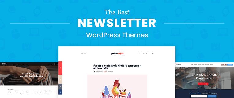 Newsletter WordPress Themes
