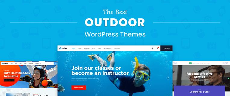 Outdoor WordPress Themes