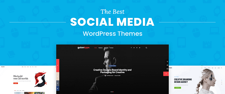 Social Media WordPress Themes