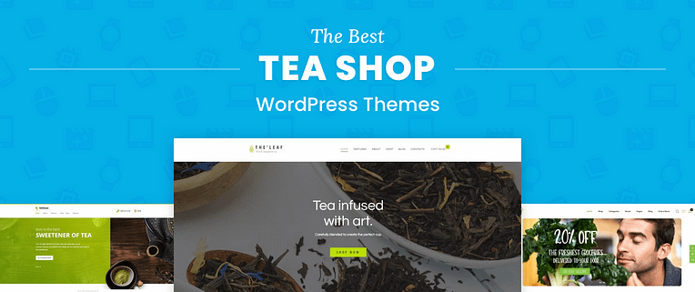 Tea Shop WordPress Themes