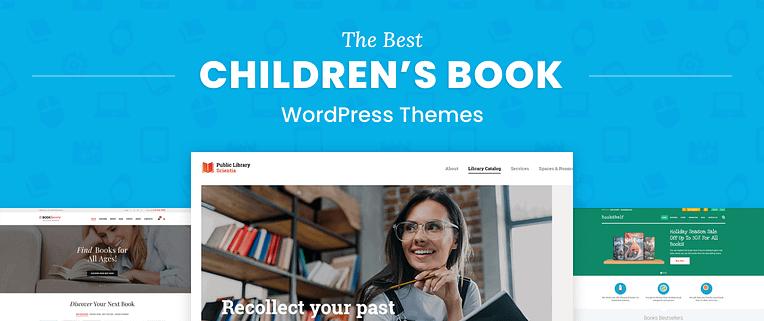 Children's Book WordPress Themes