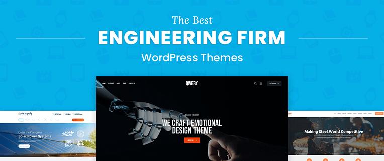 The Best Engineering WordPress Themes