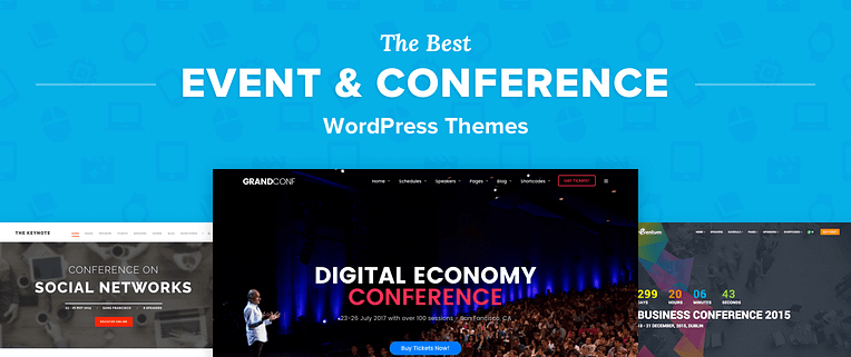 Top 13 Best Wordpress Themes For Events Conferences