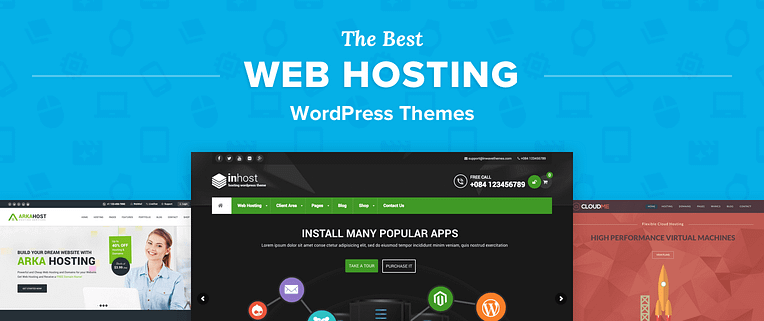 Hosting Wordpress Themes