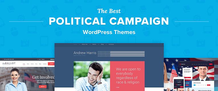 Political Campaign Wordpress Themes