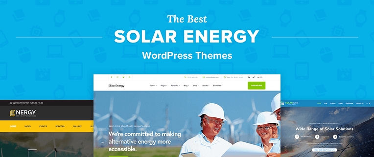 Best Solar Energy WordPress Themes