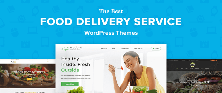 Food Delivery Service WordPress Themes