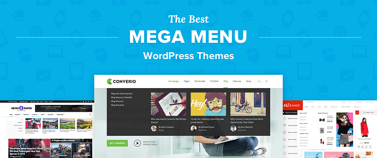 Mega Menu WordPress Themes
