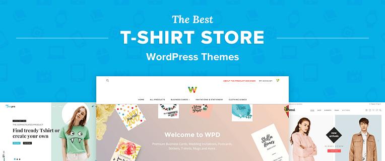 T-Shirt Store WordPress Themes