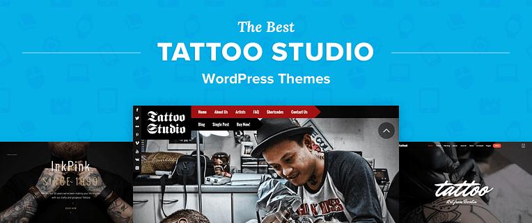 Tattoo Studio WordPress Themes