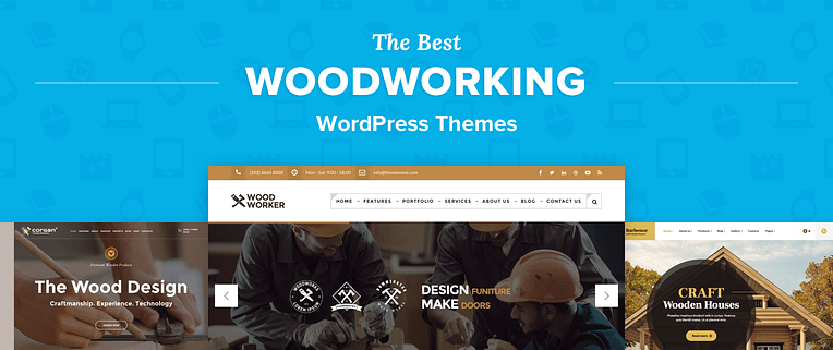 Woodworking WordPress Themes