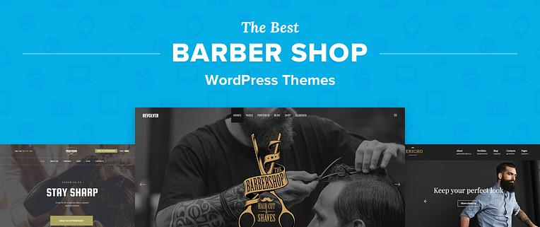 Barber Shop WordPress Themes