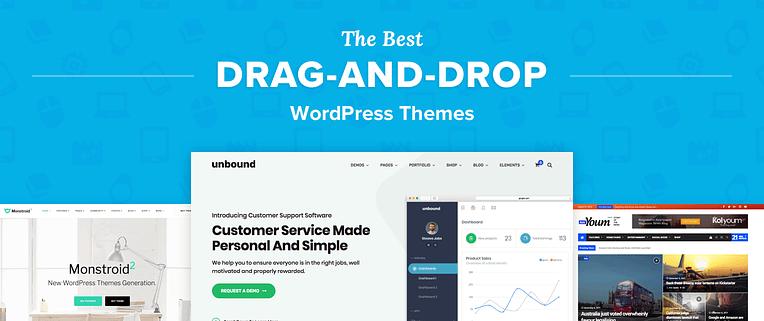Drag-and-drop WordPress Themes
