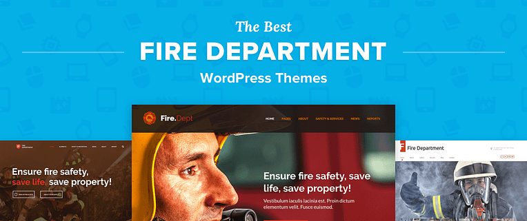 Fire Department WordPress Themes