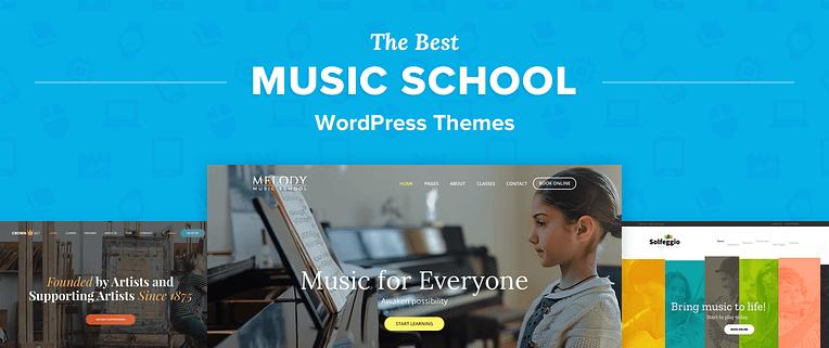 Music School WordPress Themes