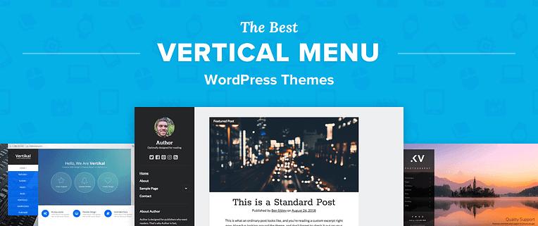 Vertical Menu WordPress Themes