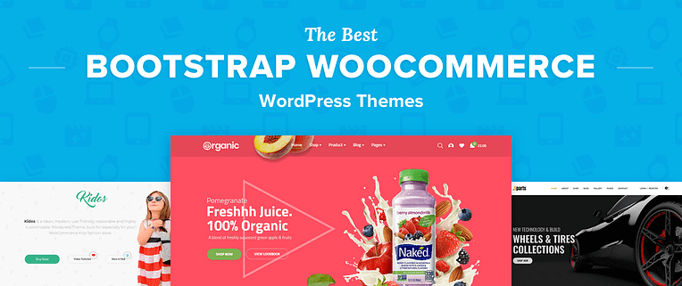 Bootstrap WooCommerce WordPress Themes