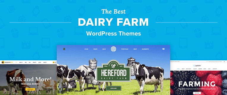 Dairy Farm WordPress Themes