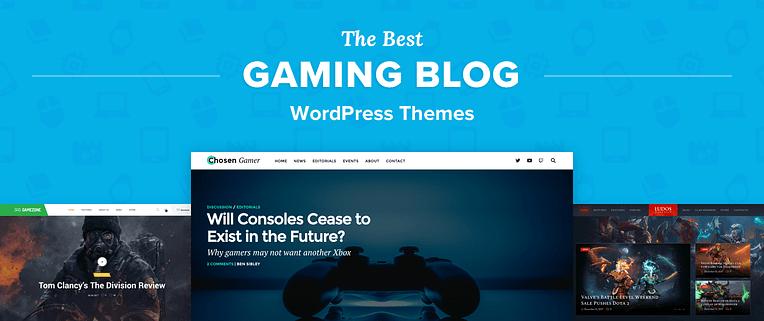 Gaming Blog Wordpress Themes