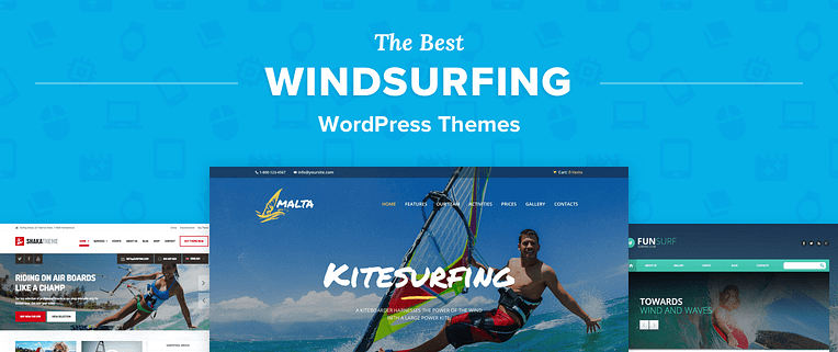 Windsurfing WordPress Themes