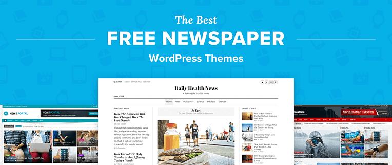 Free Newspaper WordPress Themes