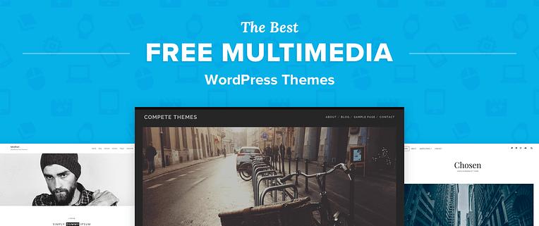 Free Multimedia WordPress Themes