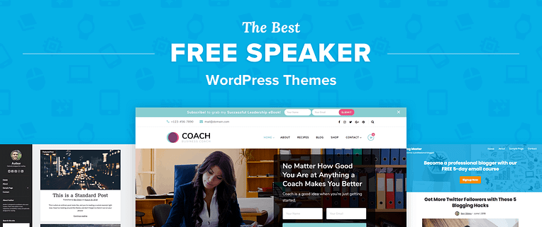 Free WordPress Themes For Speakers