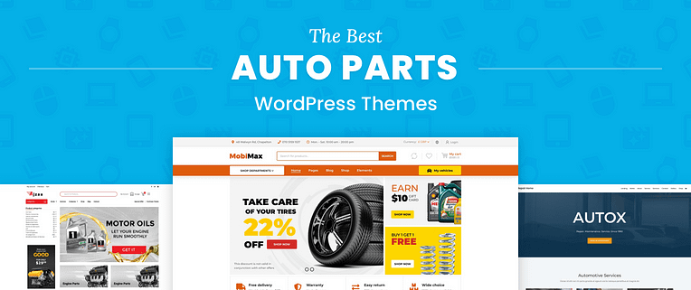 Auto Parts WordPress Themes