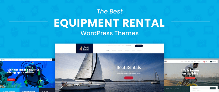 The Best Equipment Rental WordPress Themes