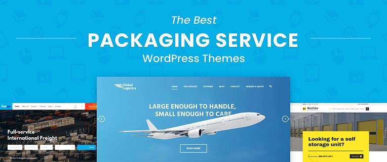 Packaging Service WordPress Themes