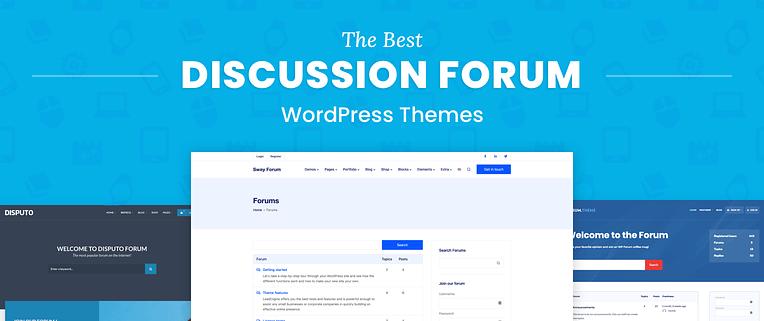 WordPress Forum Themes
