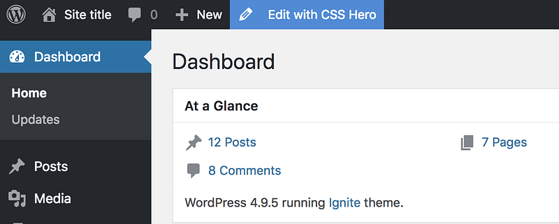Edit With CSS Hero