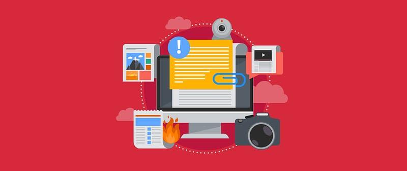 Icons for web publishing