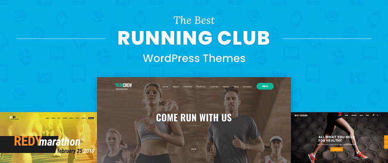 Running Club WordPress Themes