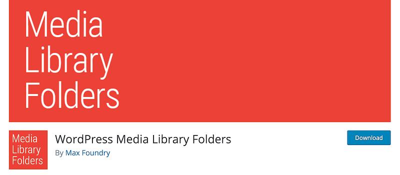 Max Foundry WordPress Media Library Folders