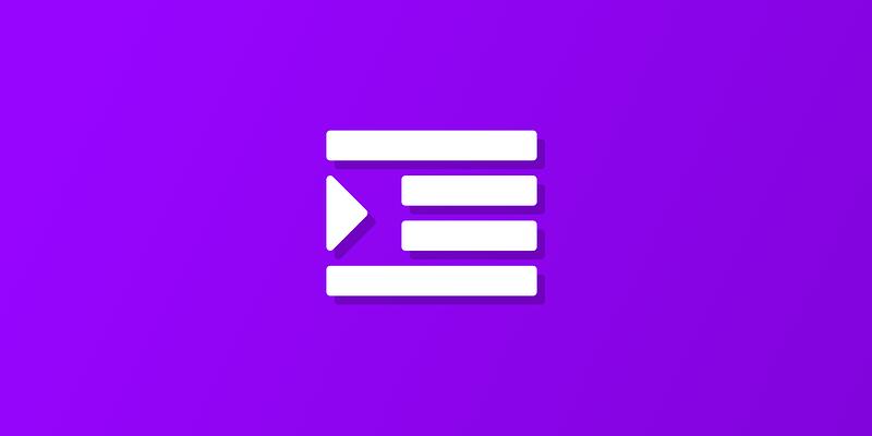 Text indentation icon
