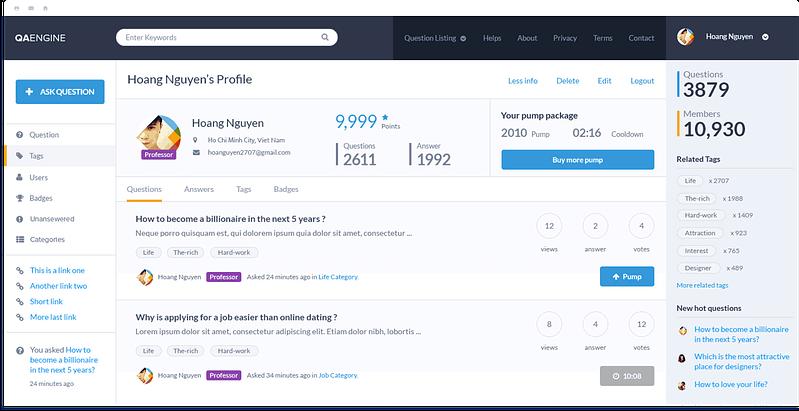 QAEngine Profile