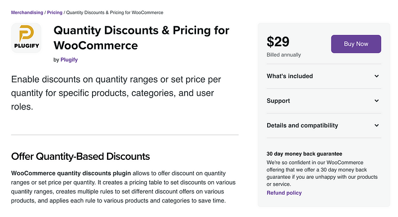 Quantity Discounts & Pricing for WooCommerce