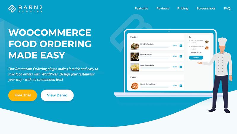 WooCommerce Food Ordering Plugin