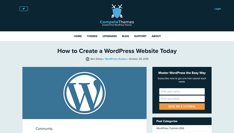 Make WordPress Website