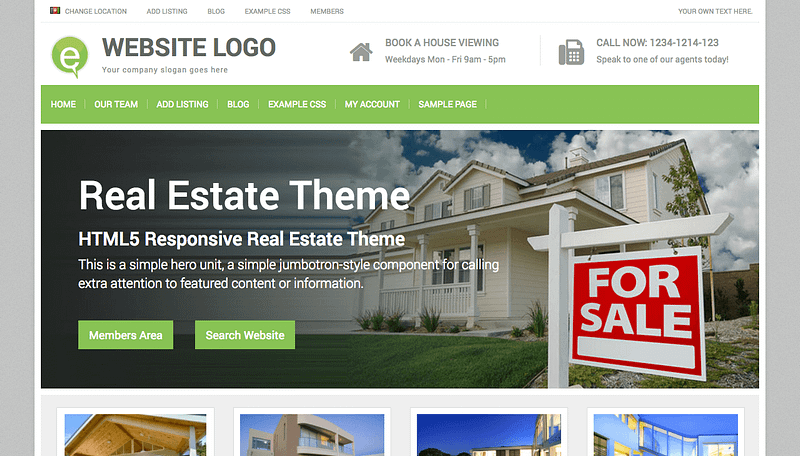 Real Estate theme by PremiumPress